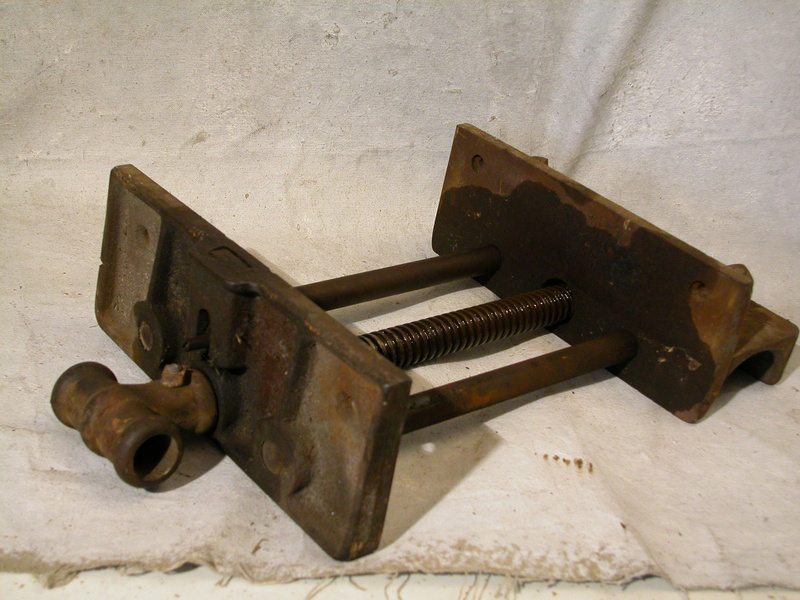Craftsman 10 Wood Woodworking Carpenter Bench Vise Antique Old Vice Clamp Ebay